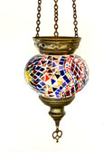 Turkish Glass Mosaic Lantern-medium-4