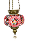 Turkish Glass Mosaic Lantern-#6
