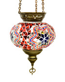 Turkish Glass Mosaic Lantern-#4