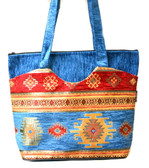 Turkish Velvet Handbag-5