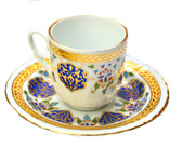 Turkish Porcelain Coffee Cup #4