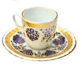 Turkish Porcelain Coffee Cup #4