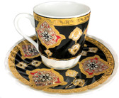 Turkish Porcelain Coffee Cup #8