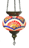 Turkish Glass Mosaic Lantern-#14