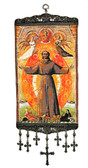 Saint Francis Icon Wall Decor-large