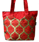 Turkish Velvet Handbag-13