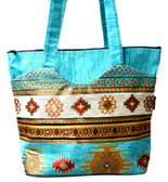 Turkish Velvet Handbag-18