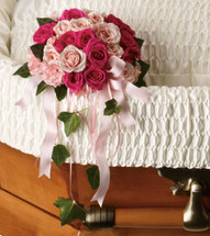 Rose Reflection Casket Insert