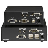 ServSwitch Brand CATx USB KVM Extender, Single-Head VGA with Serial and Audio