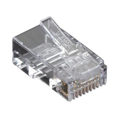 CAT6 Value Line Modular Plug, Unshielded, 100-Pak