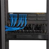 Elite Horizontal Cable Manager, Single-Sided, 2U