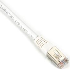 Pvc 30-Ft. White 9.1-M Black Box Cat5e 350-Mhz Solid Backbone Cable Ftp Shielded
