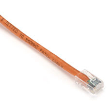GigaTrue CAT6 Channel Patch Cable with Basic Connectors, Orange, 15-ft. (4.5-m)