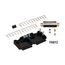 RS-232 Connector Kit, DB25 Male