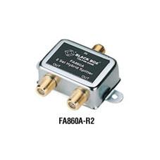 75-Ohm Hybrid (UHF/VHF) Splitter, 2-Pack
