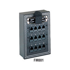 CAT3 Cluster Panel, (12) RJ-11, USOC, 4-Wire Ports, (1) Telco 50 Female