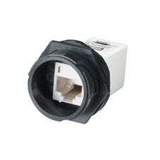 In-Line CAT5e Industrial Coupler Connector