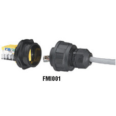 Industrial Panel-Mount Connector Housing