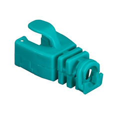 Snap-On Patch Cable Boot, 50-Pack, Green
