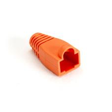 Color-Coded Snagless Pre-Plug, Orange, 50-Pack