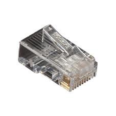 CAT5e Modular Plugs, RJ-45, 10-Pack
