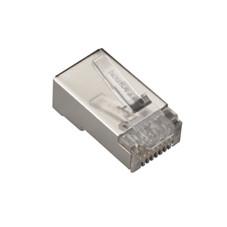CAT6 Shielded Modular Plug, 25-Pack