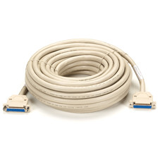 Extended-Distance Data Cable, 25 Conductors (12 1/2 Pairs), Female/Female, 50-ft. (15.2-m)