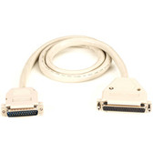 RS-449 to RS-530 Cable, DB37 Female to DB25 Male, 3-ft. (0.9-m)