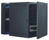 "GL36WMS: Great Lakes Case & Cabinet, WM Wall Mounts, 36""H x 21.25""W x 24.5""D, solid door (GL36WMS)"
