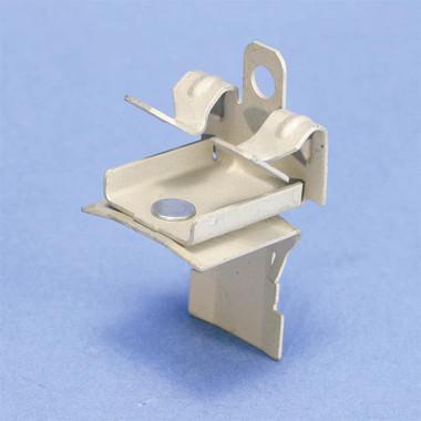 "CADDY CAT HP J-Hook Clip to Hammer-On Flange Clip, Swivel, 1/8""–1/4"" Flange"