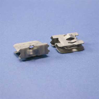 """Multi-Purpose Clip for Bridle Rings, 1/8""""–1/2"""" Flange, 1/4"""", #10 Wire"""