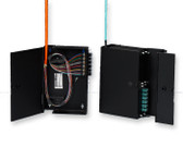 WIC-02P: Wall-Mountable Interconnect Center (WIC), Lanscape Holds 2 CCH connector panels