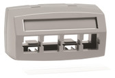 M14CE-E -270 Faceplate 0.125 Snap (gray)