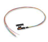 FAN-OD47-12: Corning 12-Fiber Outdoor Buffer Tube Fan-Out Kit, 1138 mm legs
