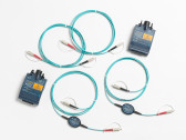 MRC-625EFC-SCLCKIT: Fluke Networks Encircled Flux Compliant Test Reference Cord Kit for Testing 62.5 µm LC Terminated Fibers, 2 SC/LC, 2 LC/LC
