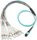 BKC-MPO-ULC: Fluke Networks Breakout Cord for MPO Unpinned to LC, 1m Cable Length, Fiber Tester Accessory