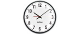 "Inova Solutions | ONTA12-BK - 12"" Analog Clock, Single Sided"