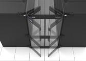 "10163-45 | AisleLok, Bi-Directional Doors, 48""W x 45RMU"