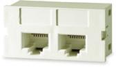 SCM245-C6C   Signamax 2-Port Cat6 Connector Module, 10 pack