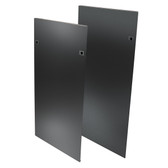 SR48SIDE4PHD | 48U SmartRack Heavy-Duty Open Frame side panels with latches