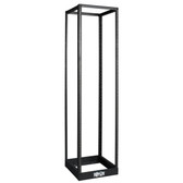 SR4POST | 45U SmartRack 4-Post Open Frame Rack, 1000-lb. Capacity - Organize and Secure Network Rack Equipment
