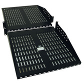 SRSHELF2PX2 | SmartRack 2U Cantilever Double-sided Fixed Shelf (60 lb/27 kg capacity each side; 36 in./914 mm depth)