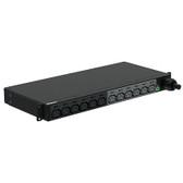 BASIC PDU, 30AMP, (12)C13, NEMA L6-30P-3M, BLACK