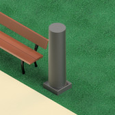 3030 | Oberon Wireless NetPost™ Heavy Duty Fiberglass Wireless Bollard