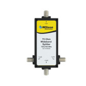 Wilson Electronics 859994: 3 port 700-2500 MHz Splitter w/F Female connectors, 75 Ohm