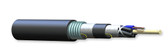012EU5-T4101D20: Corning ALTOS® Loose Tube, Gel-Free, Double-Jacket, Single-Armored Cable, 12 F, Single-mode (OS2)