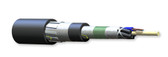 012EUL-T3601D2M: Corning Mining and Petrochemical Loose Tube, Gel-Free Cable, 12 F, Single-mode (OS2)