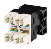 760237777 (UNJ600-BK) | CommScope: Cat6 Jack, Black