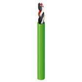 DEIP162U | Belden Digital Electricity Cable: Indoor, 16/2, Plenum, Apple Green Jacket, 2000 ft Reel