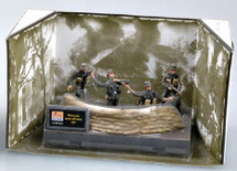 Wermacht, Streets of Poland, 1939, Diorama w/4 Figures